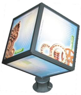 Изготовление световых коробов различных размеров и конфигурации